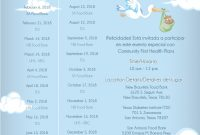 Modern Baby Shower Schedule Of Events – Wedding with Who Plans A Baby Shower
