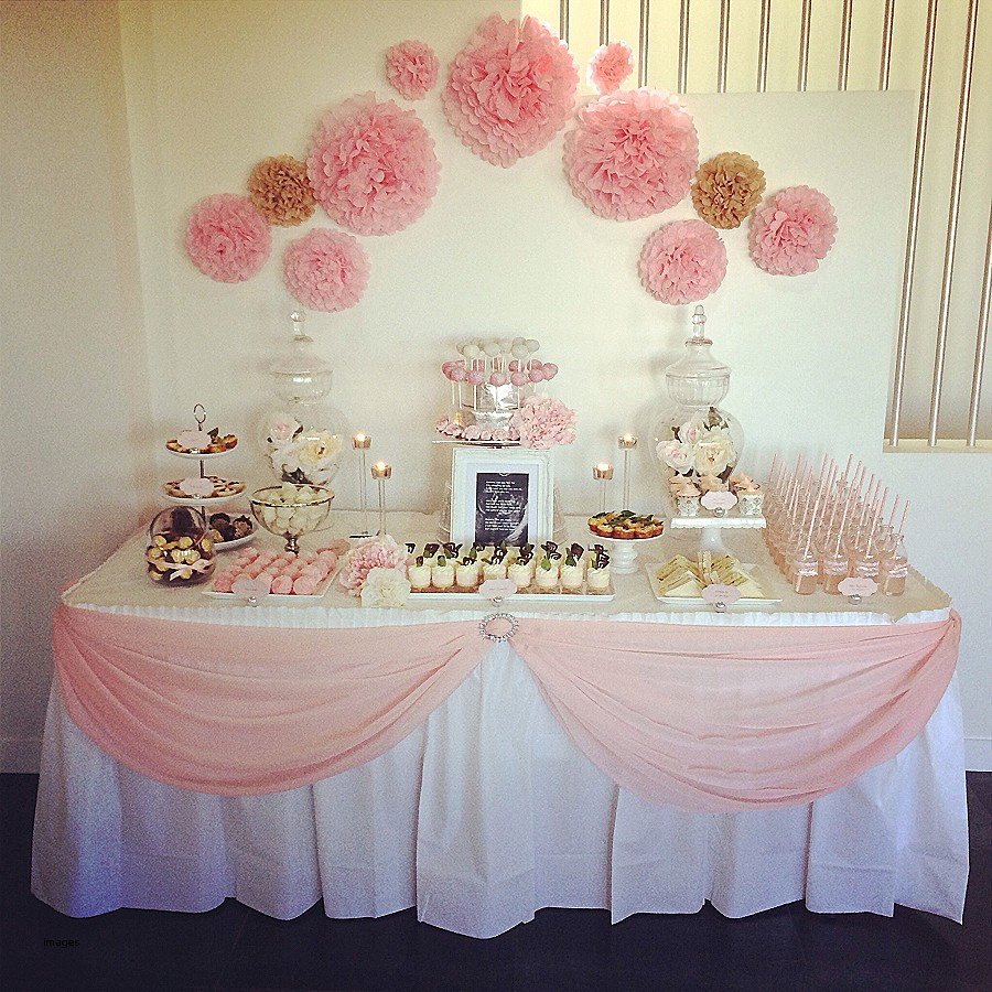 Modern Baby Shower Table Ideas Cake Centerpieces For Girl Candy Decoration pertaining to Lovely Baby Shower Table Decorating Ideas