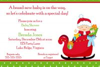 Modern Babyshowerinvitation Printable Christmas Baby Shower Invitation with Set Christmas Baby Shower