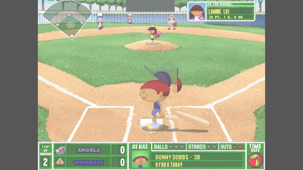 Modern Backyard Baseball 2001 - Angels Vs Wombats (Commentary Over pertaining to Beautiful Backyard Baseball Download