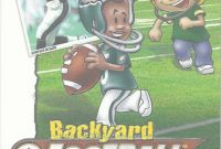 Modern Backyard Football 2002 (2001) Macintosh Box Cover Art – Mobygames throughout Set Backyard Football Game