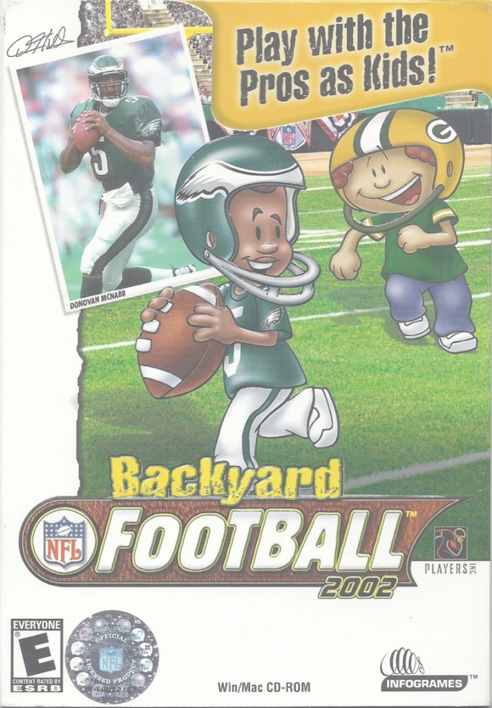 Modern Backyard Football 2002 (2001) Macintosh Box Cover Art - Mobygames throughout Set Backyard Football Game