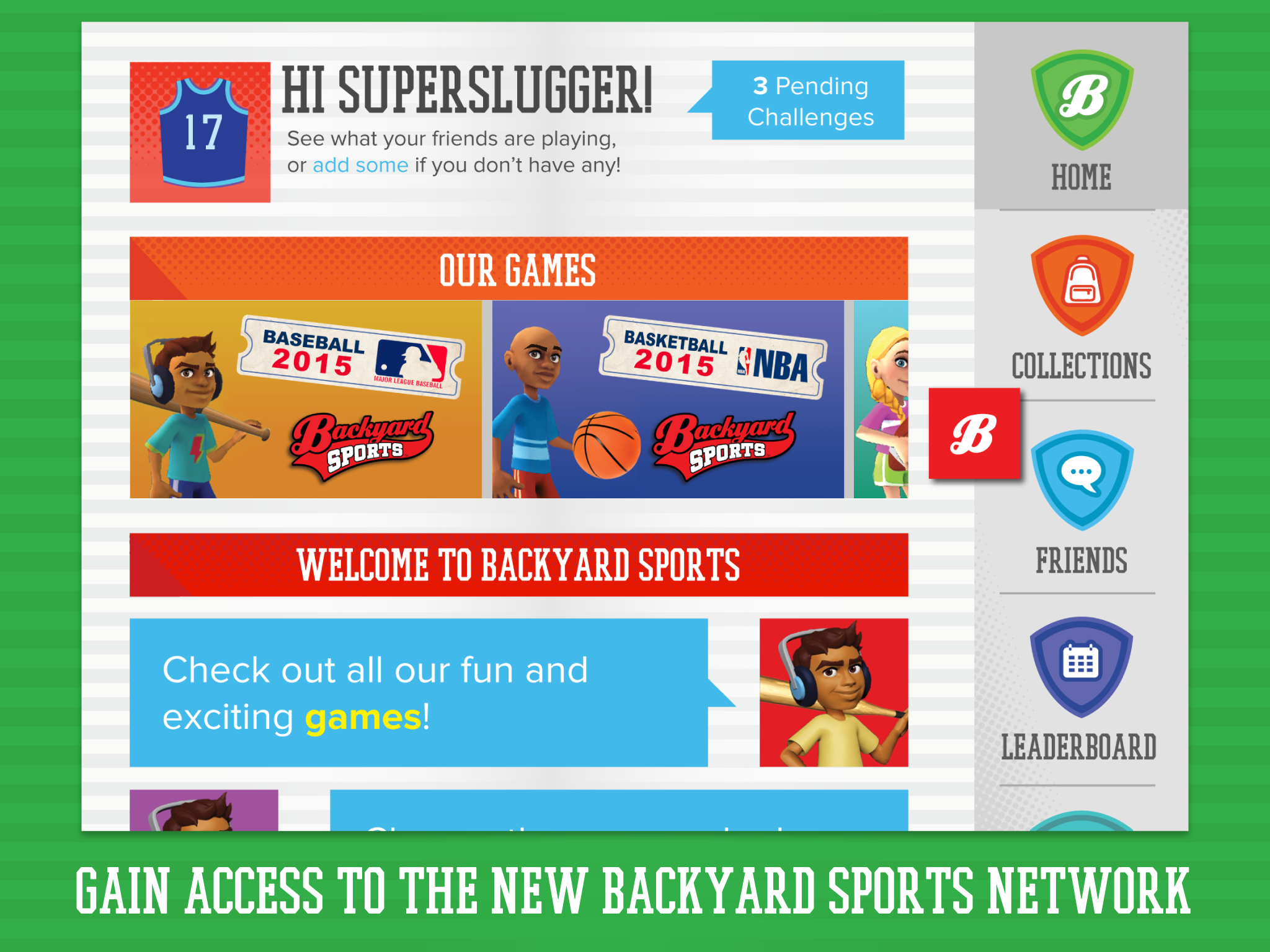 Modern Backyard Sports Baseball 2015 for Backyard Sports Characters
