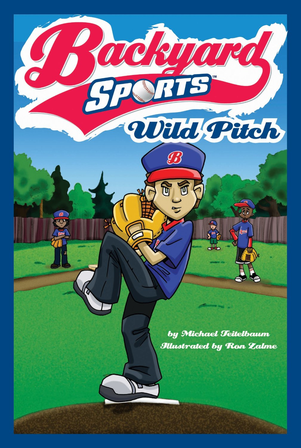 Modern Backyard Sports Book Series | Erik Haldi regarding Best of Backyard Sports Characters
