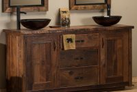 Modern Barnwood Bathroom Vanities And Barnwood Bathroom Accessories for Barnwood Bathroom Vanity