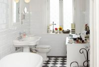 Modern Bathroom : Black And White Bathroom Ideas Bathrooms Designs Tiles within Vintage Black And White Bathroom Ideas