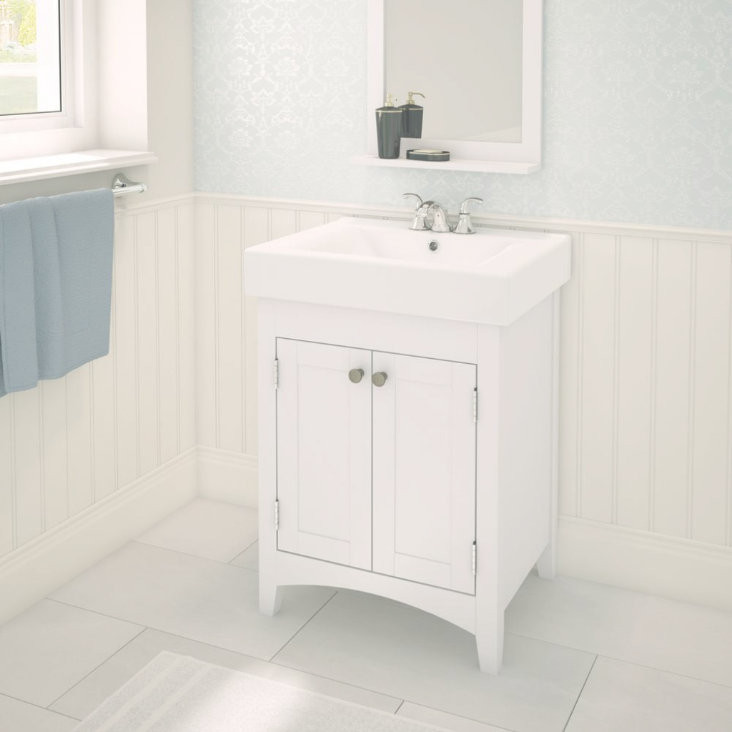 Modern Bathroom Sink : Small Bathroom Vanity With Sink Pretty Inspiration pertaining to Small White Bathroom Vanity