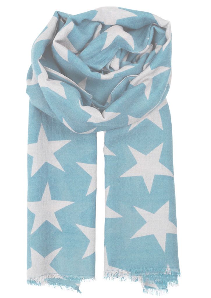 Modern Becksondergaard Supersize Nova Scarf - Dusky Blue with regard to Dusky Blue