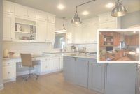 Modern Before And After Painted Kitchen Cabinets With Further Details for Painted Kitchen Cabinets Before And After