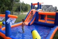 Modern Best Inflatable Water Slide Reviews – Updated 2017 within Backyard Inflatables