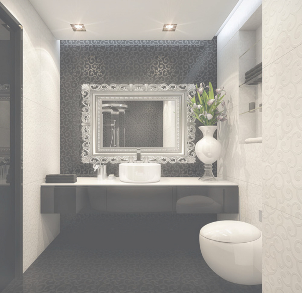 Modern Black-And-White-Bathroom-Ideas-Wywf - Design On Vine for Good quality Black Bathroom Ideas