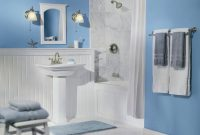 Modern Blue Bathroom Decor – Decco.voiceoverservices.co intended for Light Blue Bathroom Accessories