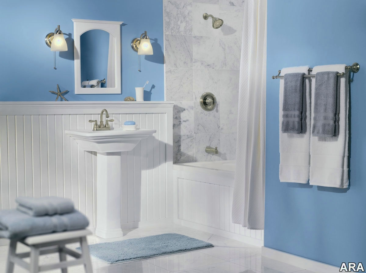 Modern Blue Bathroom Decor - Decco.voiceoverservices.co intended for Light Blue Bathroom Accessories