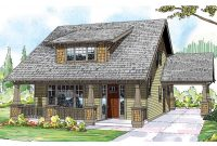Modern Bungalow House Plans – Blue River 30-789 – Associated Designs within Bungalow Home Plans