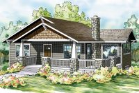 Modern Bungalow House Plans – Lone Rock 41-020 – Associated Designs inside High Quality Bungalow Home Plans