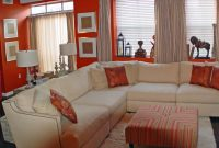 Modern Burnt Orange Living Room Curtains – Living Room Ideas within Luxury Burnt Orange Living Room
