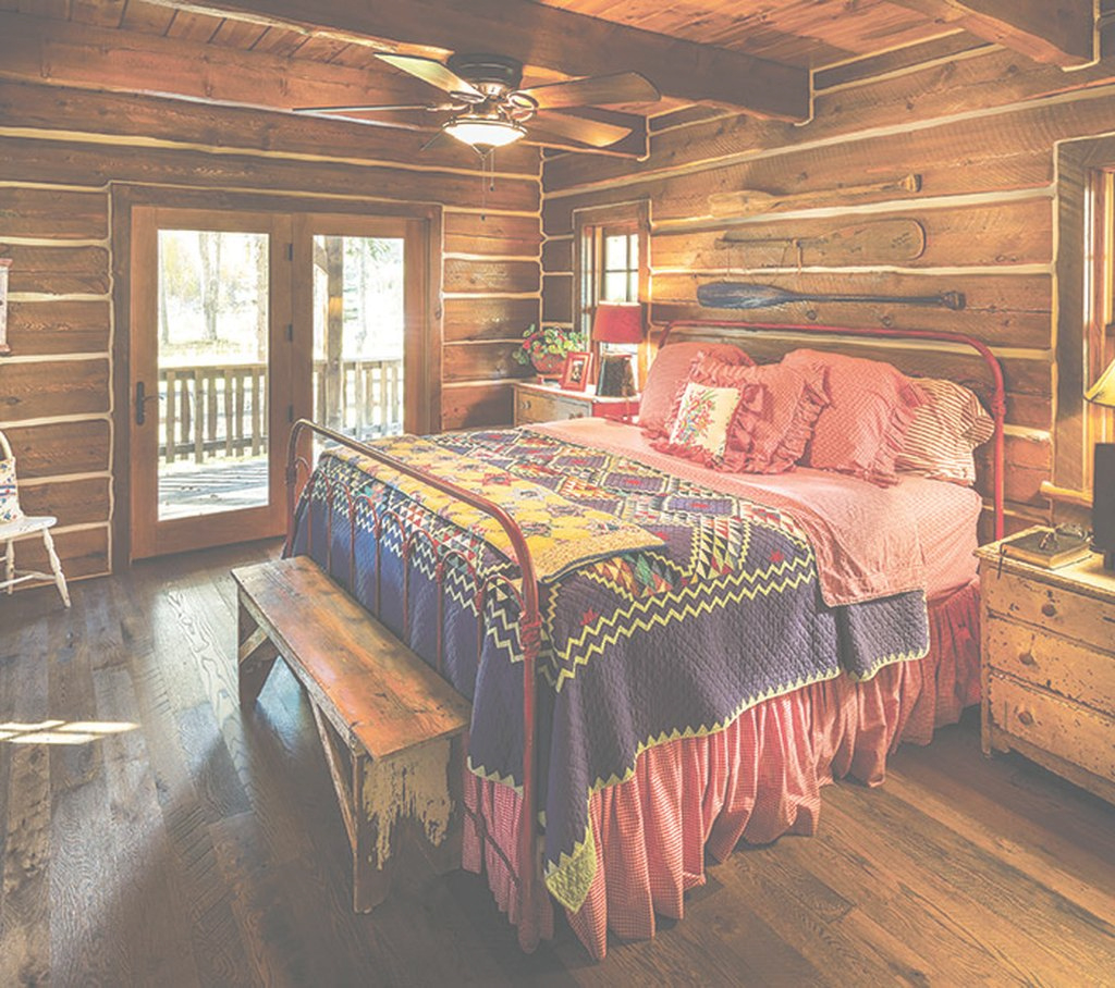Modern Cabin Bedroom Ideas Archives - Decoralink for Cabin Bedroom