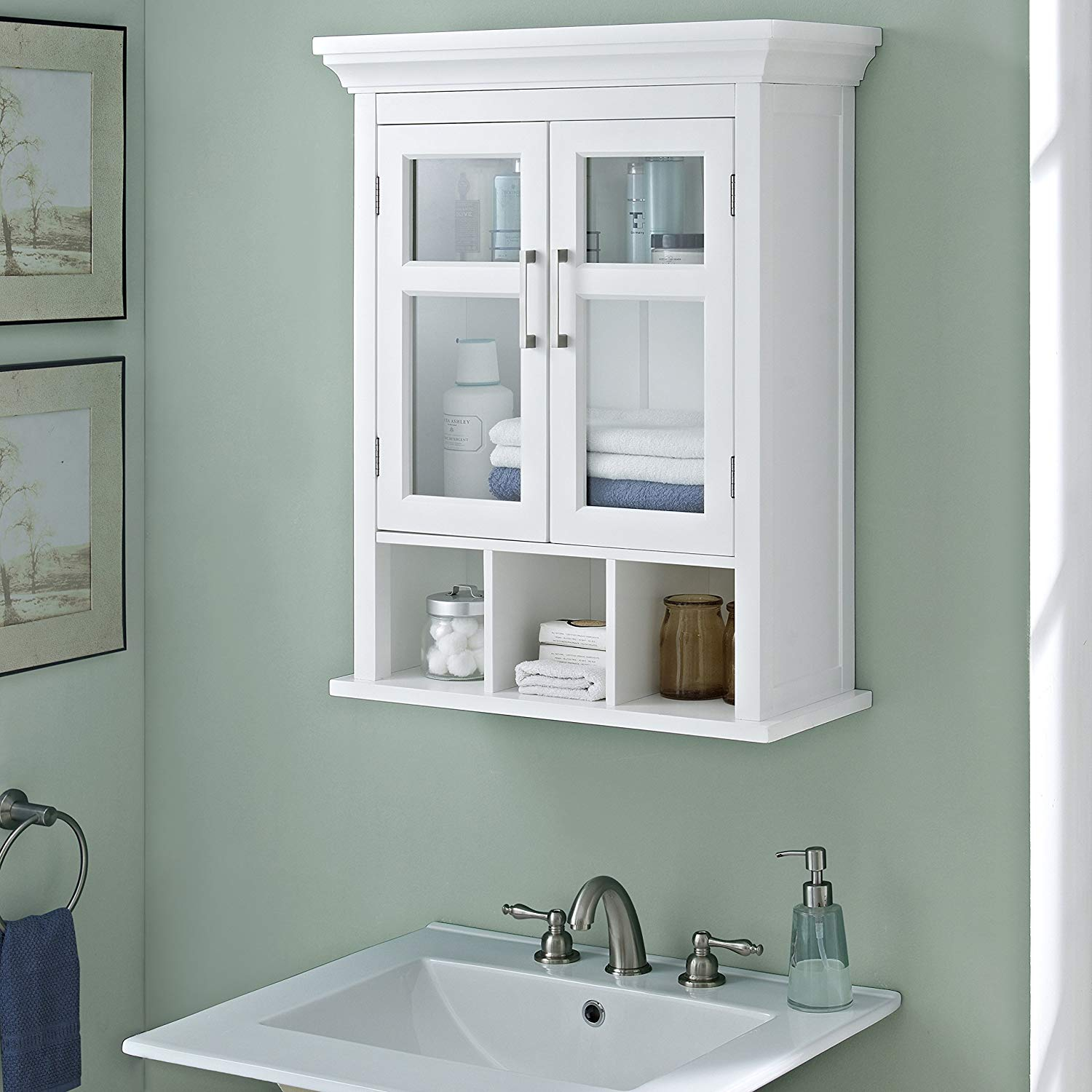 Modern Cabinet Ideas : Walmart Bathroom Storage Over Toilet Bathroom Wall intended for Bathroom Wall Storage Ideas