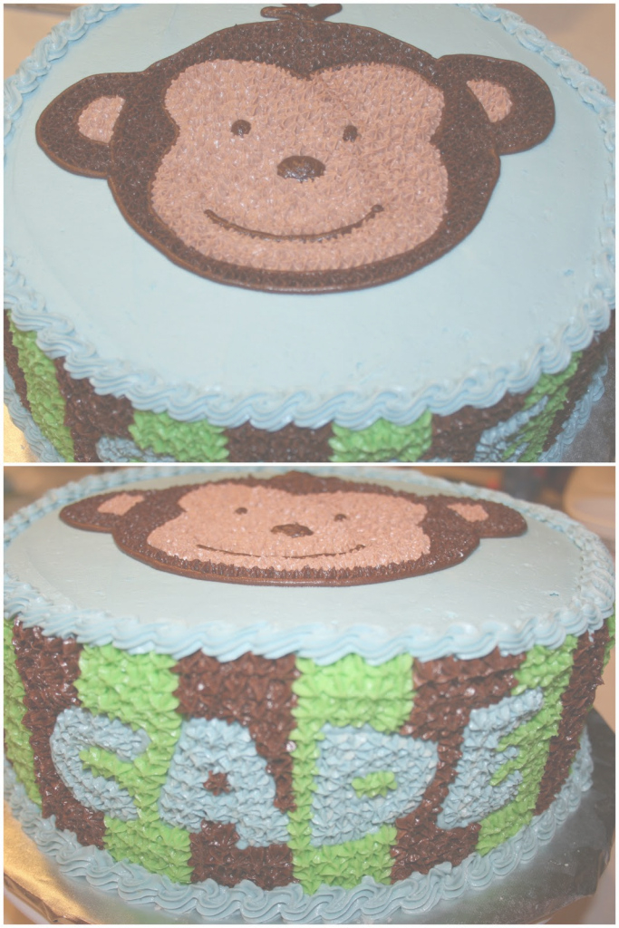 Modern Carly's Cakes: Monkey Baby Shower for Lovely Baby Shower Monkey Cakes