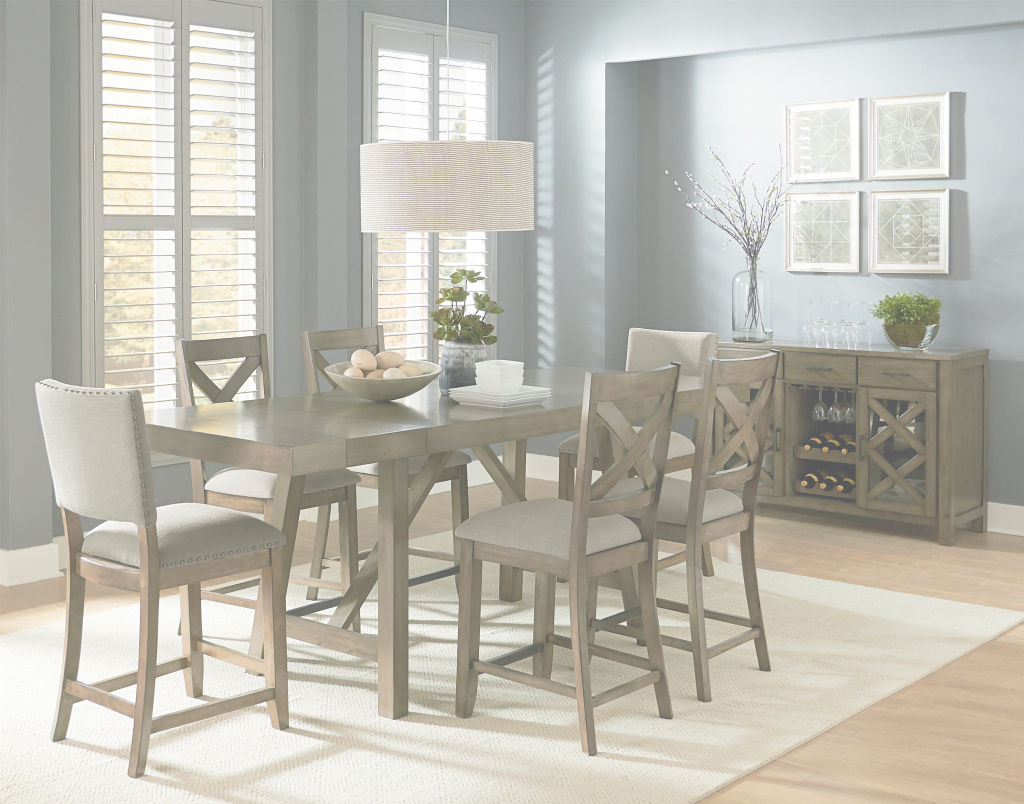 Modern Casual Dining Room Groupstandard Furniture | Wolf And Gardiner regarding Standard Dining Room Table Height
