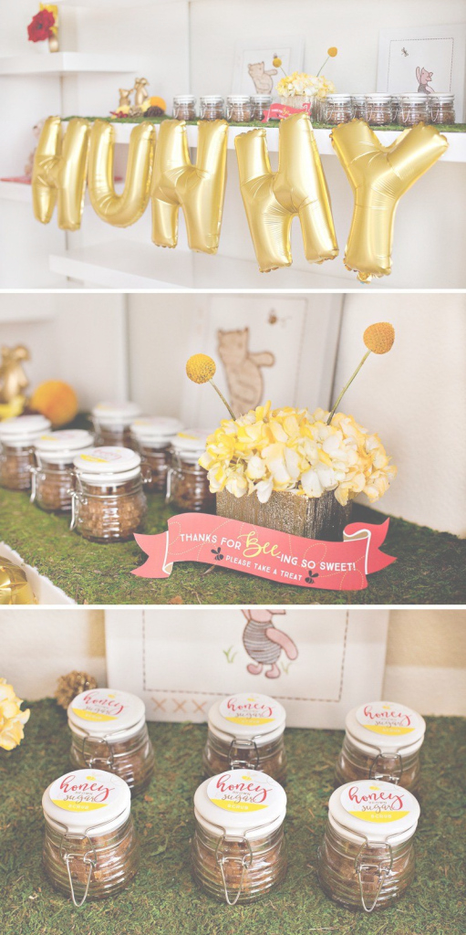 Modern Classic + Modern Winnie The Pooh Baby Shower | Pinterest | Modern regarding Modern Baby Shower Themes