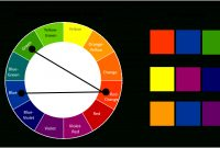 Modern Color Wheel Split Complementary Colors New At Modern Tones Wheels throughout New Complementary Colors List