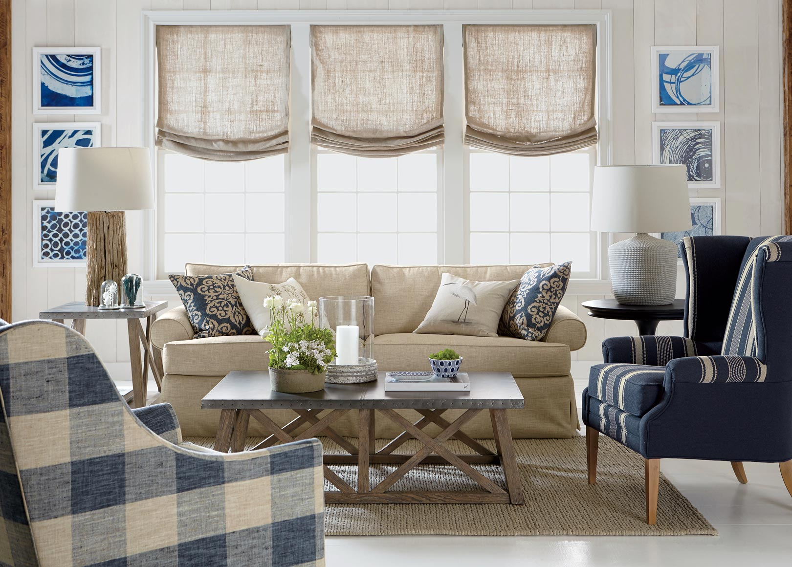 Modern Comfort Zone Living Room | Ethan Allen | Ethan Allen pertaining to Ethan Allen Living Room