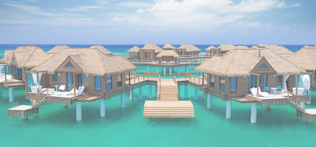 Modern Concierge Vacations Travel Blog - Concierge Vacations regarding Good quality Sandals Over The Water Bungalows
