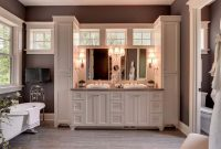 Modern Custom Bathroom Cabinets Seattle Lowes Semi Online Bath Costco throughout New Custom Bathroom Cabinets