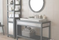 Modern Cuzco Vanity In Brushed Nickel in Metal Bathroom Vanity