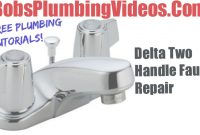 Modern Delta Faucet – Cartridge Faucet Repair – Youtube pertaining to Delta Bathroom Faucet Repair Two Handle