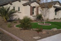 Modern Desert Landscaping Ideas With Pavers And Artificial Turf | Synthetic inside Elegant Yard Landscape Pictures