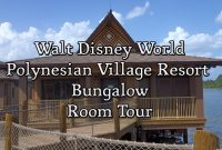 Modern Disney World – Polynesian Village Resort Bungalow Room Tour – Youtube in Disney Polynesian Resort Bungalows