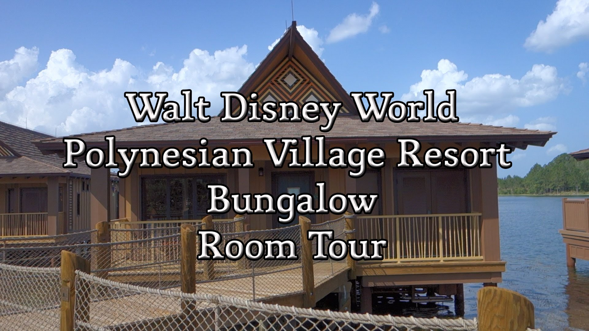 Modern Disney World - Polynesian Village Resort Bungalow Room Tour - Youtube in Disney Polynesian Resort Bungalows