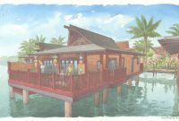 Modern Disney's Polynesian Villas & Bungalows Are Now On Sale with regard to Disney Polynesian Bungalows