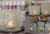 Modern Diy Winter Room Decor – Winter Votives – Youtube pertaining to Winter Decorations Diy
