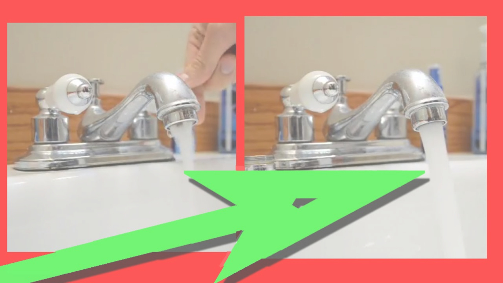 Modern Easy Fix For Low Water Pressure In Kitchen Sink Or Bathroom Sink with Low Water Pressure In Kitchen Sink