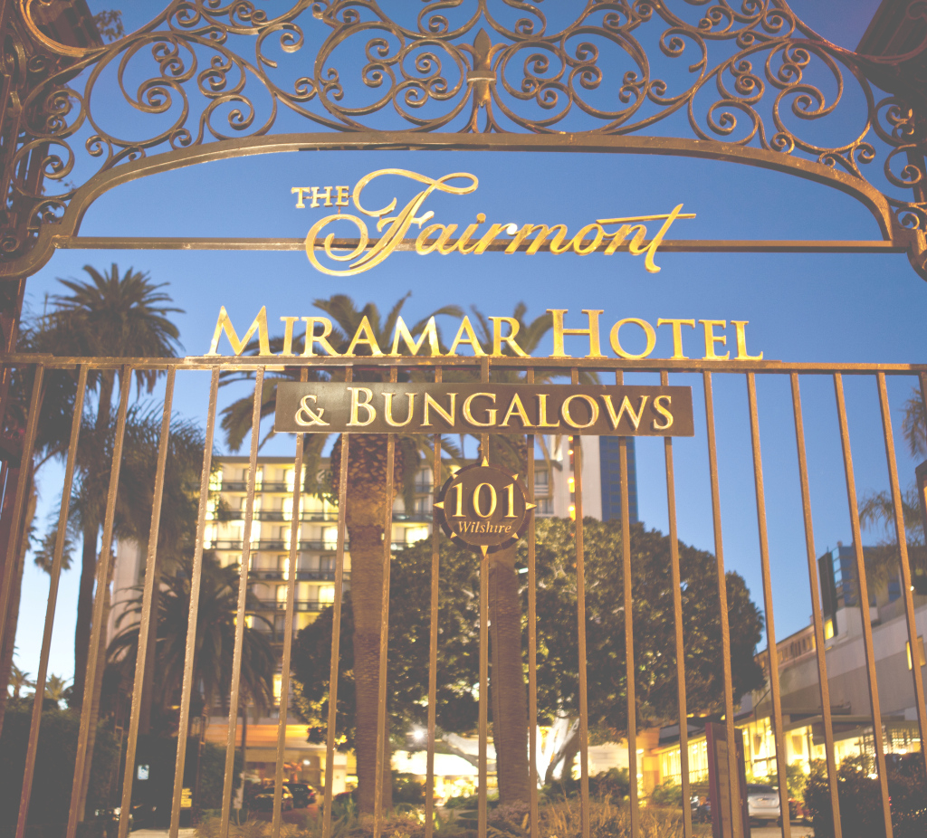 Modern Fairmont Miramar Hotel & Bungalows, Santa Monica: Fairmont Moments with regard to Bungalow Santa Monica