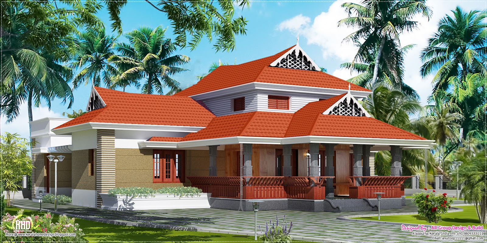 Modern February 2013 Kerala Home Design And Floor Plans, Kerala Traditional with regard to Inspirational Kerala Traditional House Plans With Photos