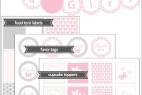 Modern Free Baby Shower Printables | Shower That Baby regarding Free Printable Baby Shower