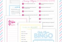 Modern Free Printable Baby Shower Games {With I Heart Nap Time} | Chickabug for Baby Shower Games Free Printable