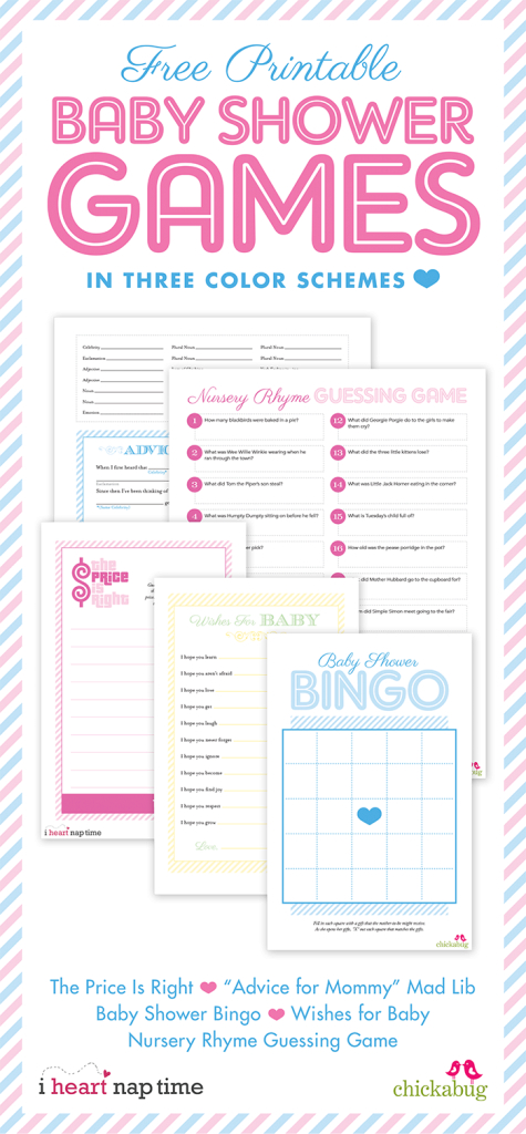 Modern Free Printable Baby Shower Games {With I Heart Nap Time} | Chickabug with regard to Free Printable Baby Shower