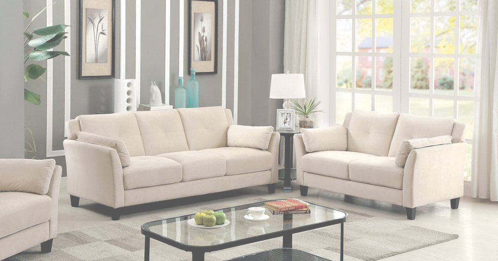 Modern Furniture Of America Ysabel Beige Living Room Set - Ysabel throughout Beige Living Room Set