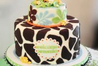 Modern Giraffe Baby Shower Cake – Cakecentral throughout New Giraffe Themed Baby Shower