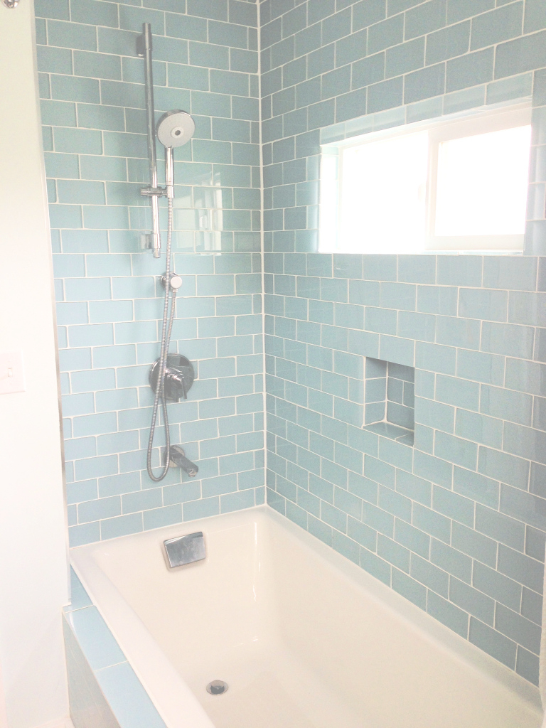 Modern Glass Tiles For Bathroom New Images About Beach Bath On Pinterest within Blue Bathroom Mosaic Tiles