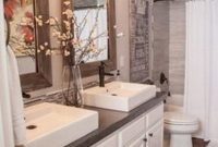 Modern Gorgeous Farmhouse Master Bathroom Decorating Ideas (28 | Master pertaining to Awesome Master Bathroom Decorating Ideas