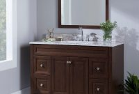 Modern Home Decorators Collection Brinkhill 48 In. W Bath Vanity Cabinet with regard to Review Bathroom Vanity Cabinet