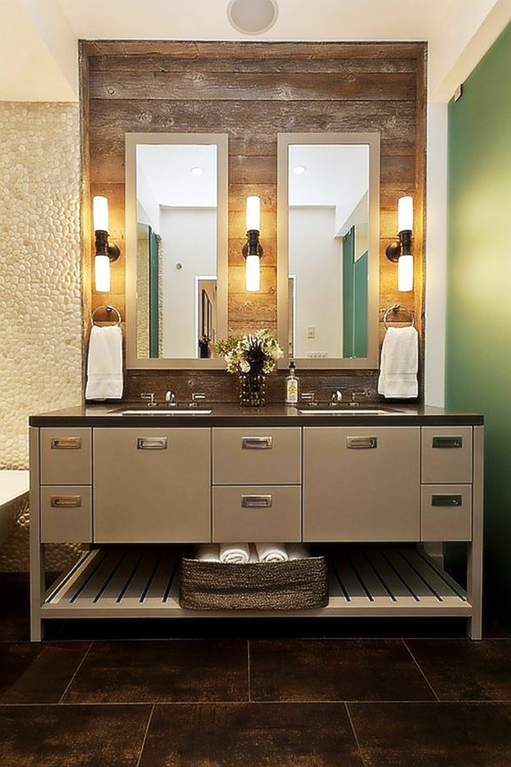 Modern Houzz Bathroom Mirror Sconces Lighting Pictures Lights Fixtures Over with regard to Beautiful Houzz Bathroom Mirrors