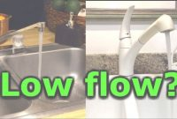 Modern How To Fix Low Water Pressure In Kitchen Or Bathroom Faucet Sink Low intended for Good quality Low Water Pressure In Kitchen Sink