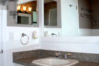 Modern How To Install Beadboard In A Bathroom – Youtube with regard to Set Bathrooms With Beadboard